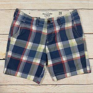 👖Abercrombie & Fitch Plaid Shorts